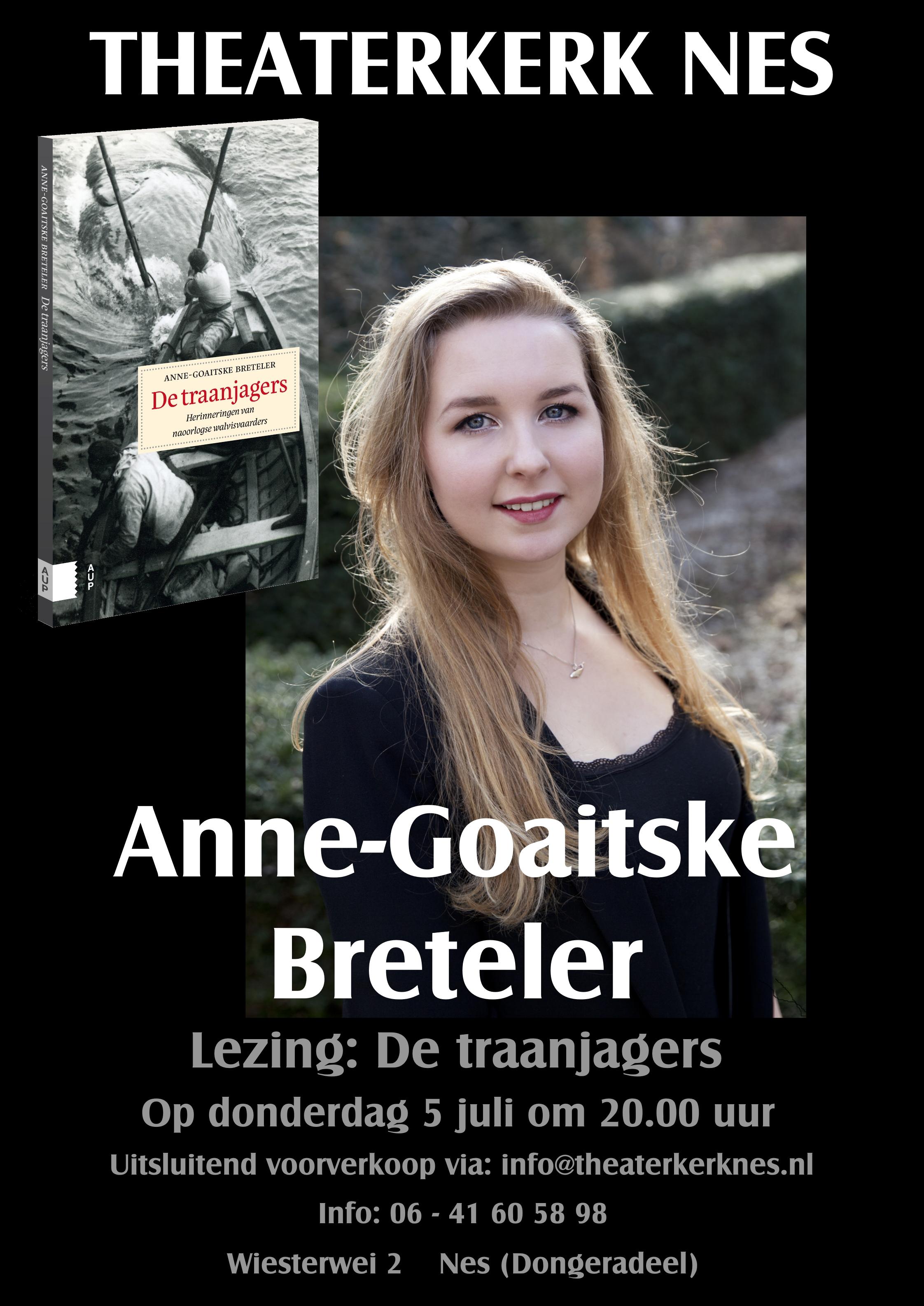 Promotie flyer gemaakt voor Theaterkerk Nes