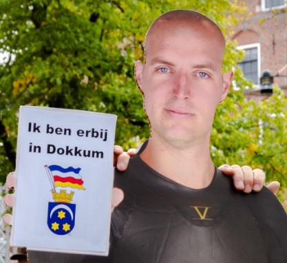 Met Maarten in Dokkum op de foto staan online!