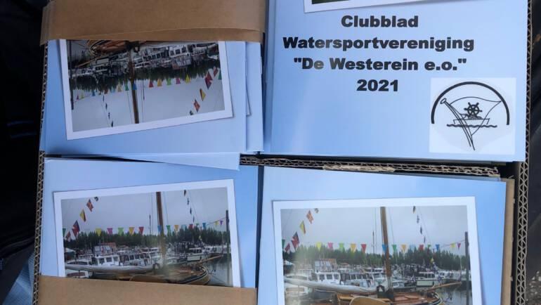 """Clubblad voor Watersportvereniging """"De Westerein e.o"""